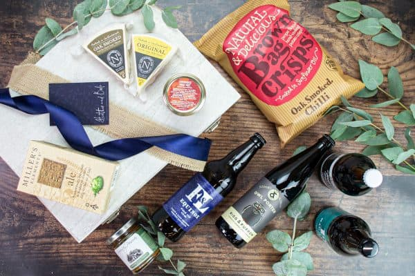 Hadrian Real Ale and Cheese Luxury Hamper