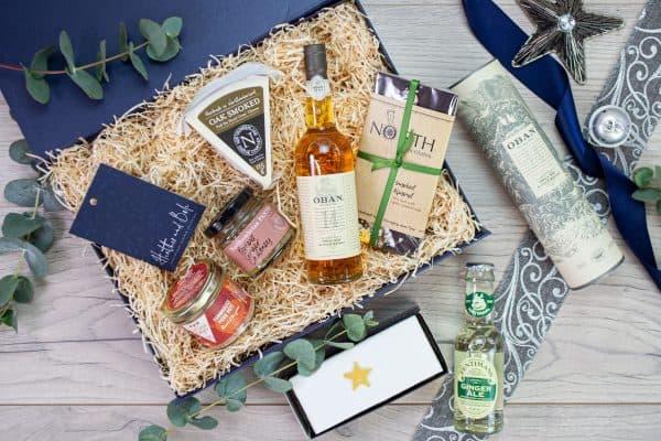 Oban Festive Whisky Box