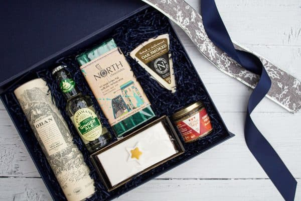 Festive Oban Whisky Box