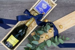 Foxton Champagne and Chocolate Gift Box