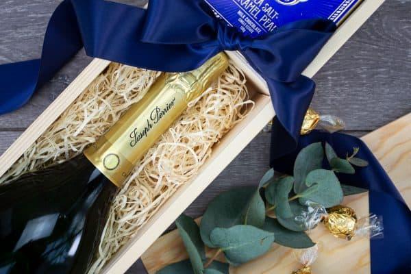 Foxton Champagne and Chocolate Gift Box