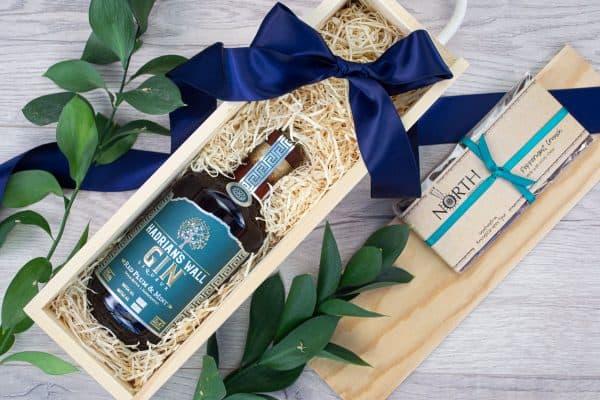 Hadrians Wall Plum & Mint Liqueur Chocolate Box