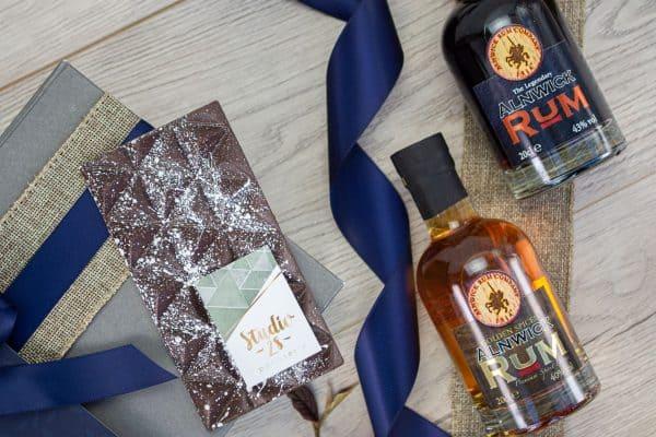 The Alnwick Rum & Chocolate Box