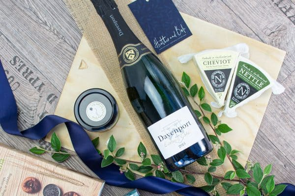 Ford English wine and cheese box