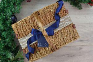 Christmas Picnic Basket